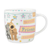 Boofle Bestest Friends Forever China Mug In Gift Box
