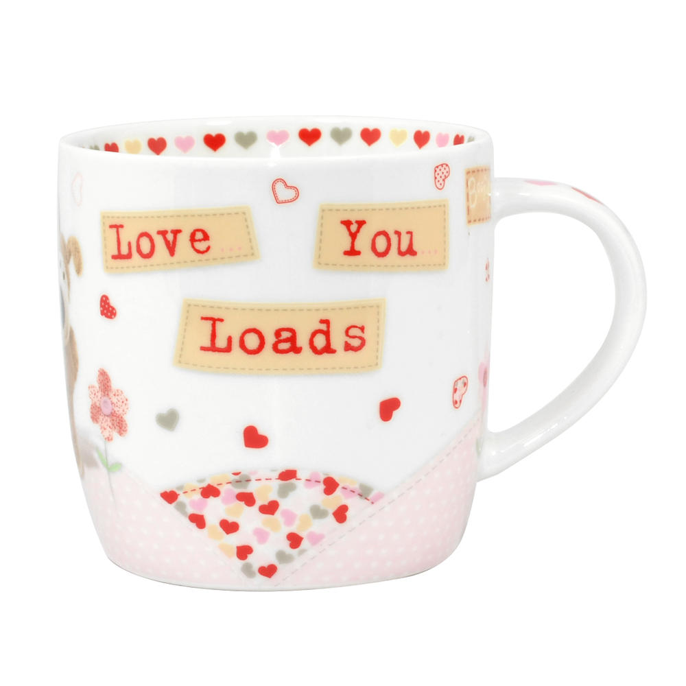 Boofle Love You Loads China Mug In Gift Box