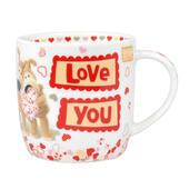 Boofle I Love You China Mug In Gift Box