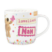 Boofle Loveliest Nan China Mug In Gift Box