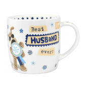 Boofle Best Husband Ever China Mug In Gift Box