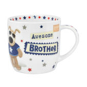 Boofle Awesome Brother China Mug In Gift Box