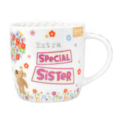 Boofle Extra Special Sister China Mug In Gift Box