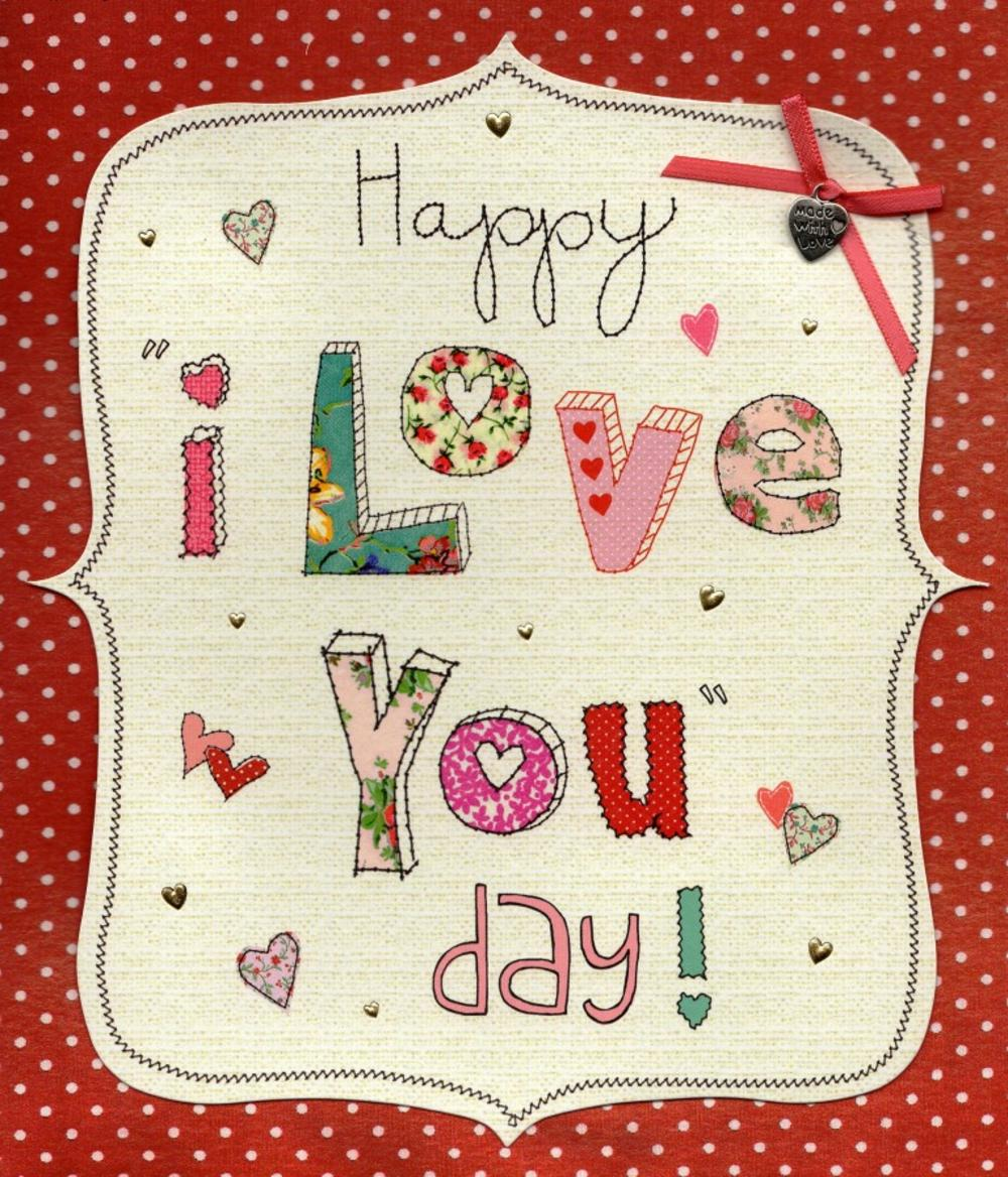 Happy I Love You Day Valentine's Day Card