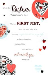 Partner Valentine's Day Greeting Card