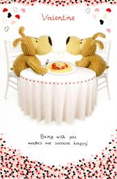 Boofle Soooo Happy Valentine's Day Card