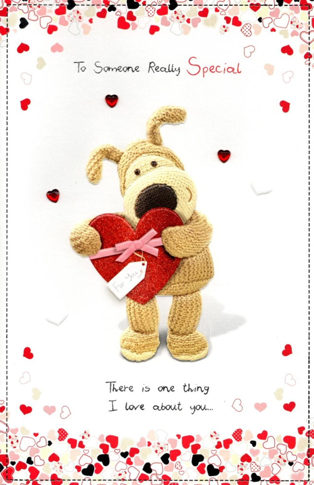 Boofle Someone Special Valentines Day Card Cards – Special Birthday Cards for Someone Special