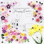 Wishing You A Happy Easter Greeting Card