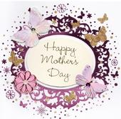 Happy Mother's Day Pretty Handmade Greeting Card