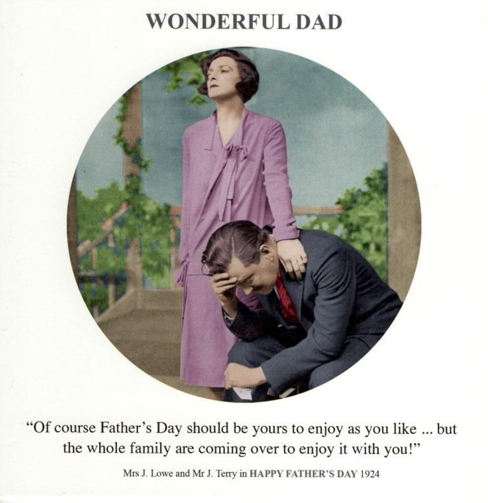 Wonderful Dad Funny Father's Day Greeting Card