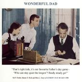 Funny Father's Day Rules Greeting Card