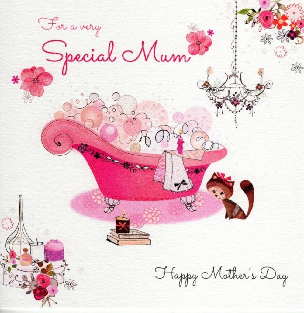 Very Special Mum Happy Mother's Day Greeting Card Lynn Horrabin Art Cards