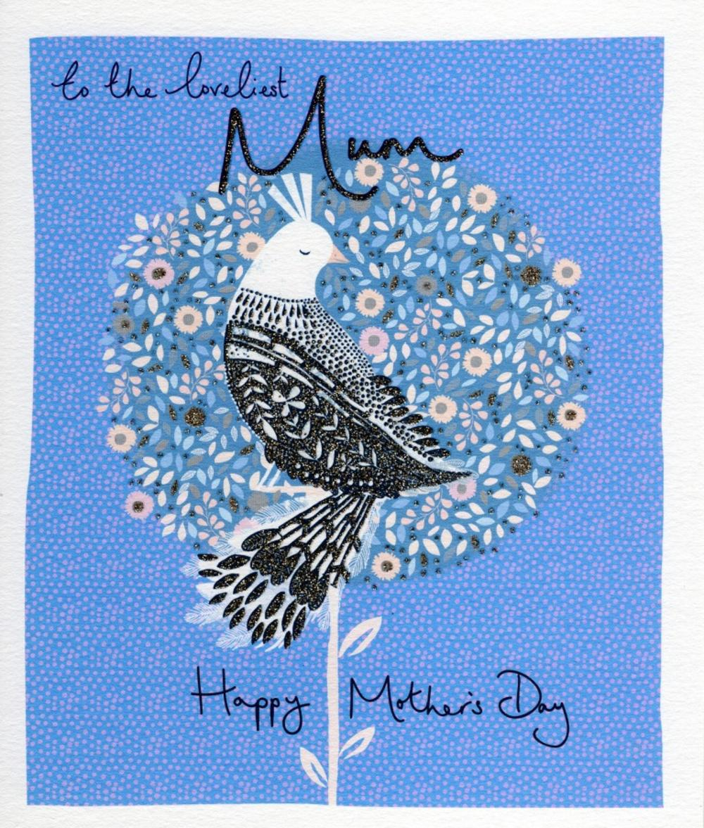 Loveliest Mum Emma Grant Mother's Day Greeting Card