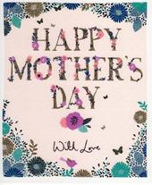 Lovely Emma Grant Happy Mother's Day Greeting Card
