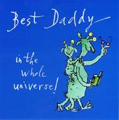 Quentin Blake Best Daddy Happy Father's Day Greeting Card