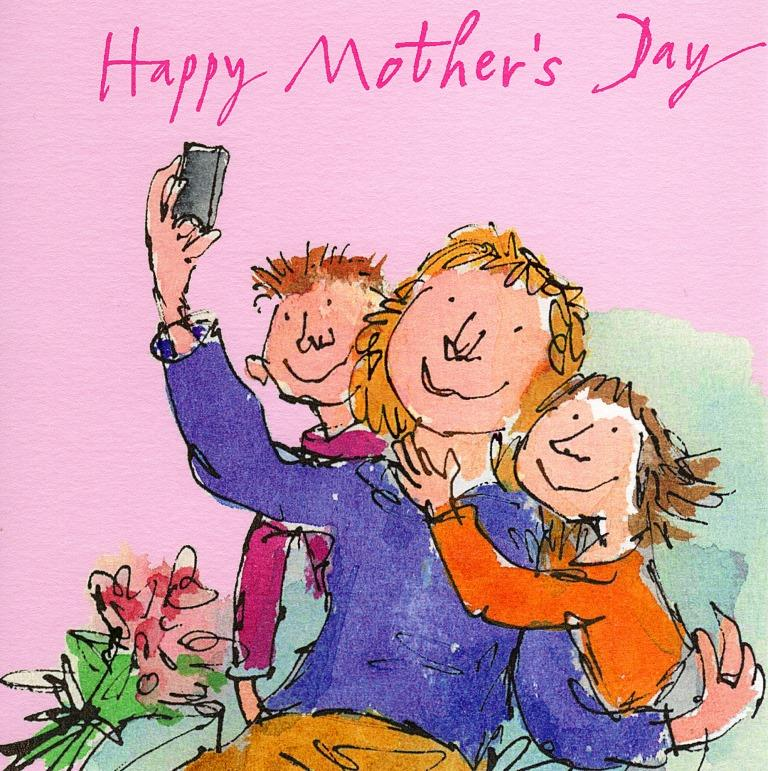 Quentin blake happy mothers day greeting card cards love kates quentin blake happy mothers day greeting card m4hsunfo