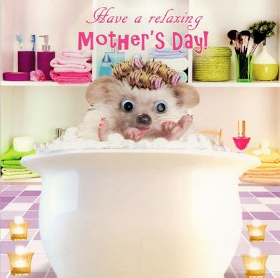 Have A Relaxing Mother's Day Card