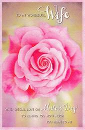 Wonderful Wife Happy Mother's Day Card