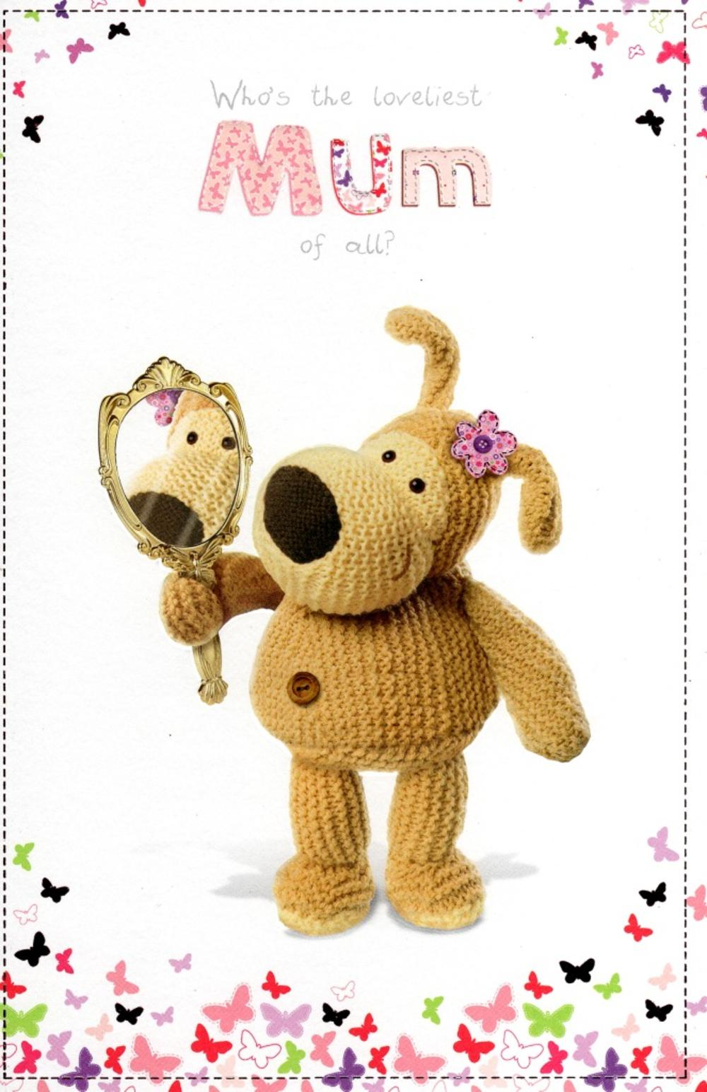 Boofle Loveliest Mum Mother's Day Card