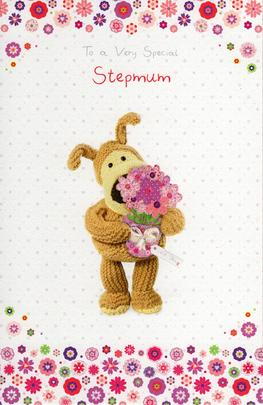 Boofle Special Stepmum Mother's Day Card