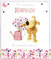 Boofle Special Nannie Mother's Day Card