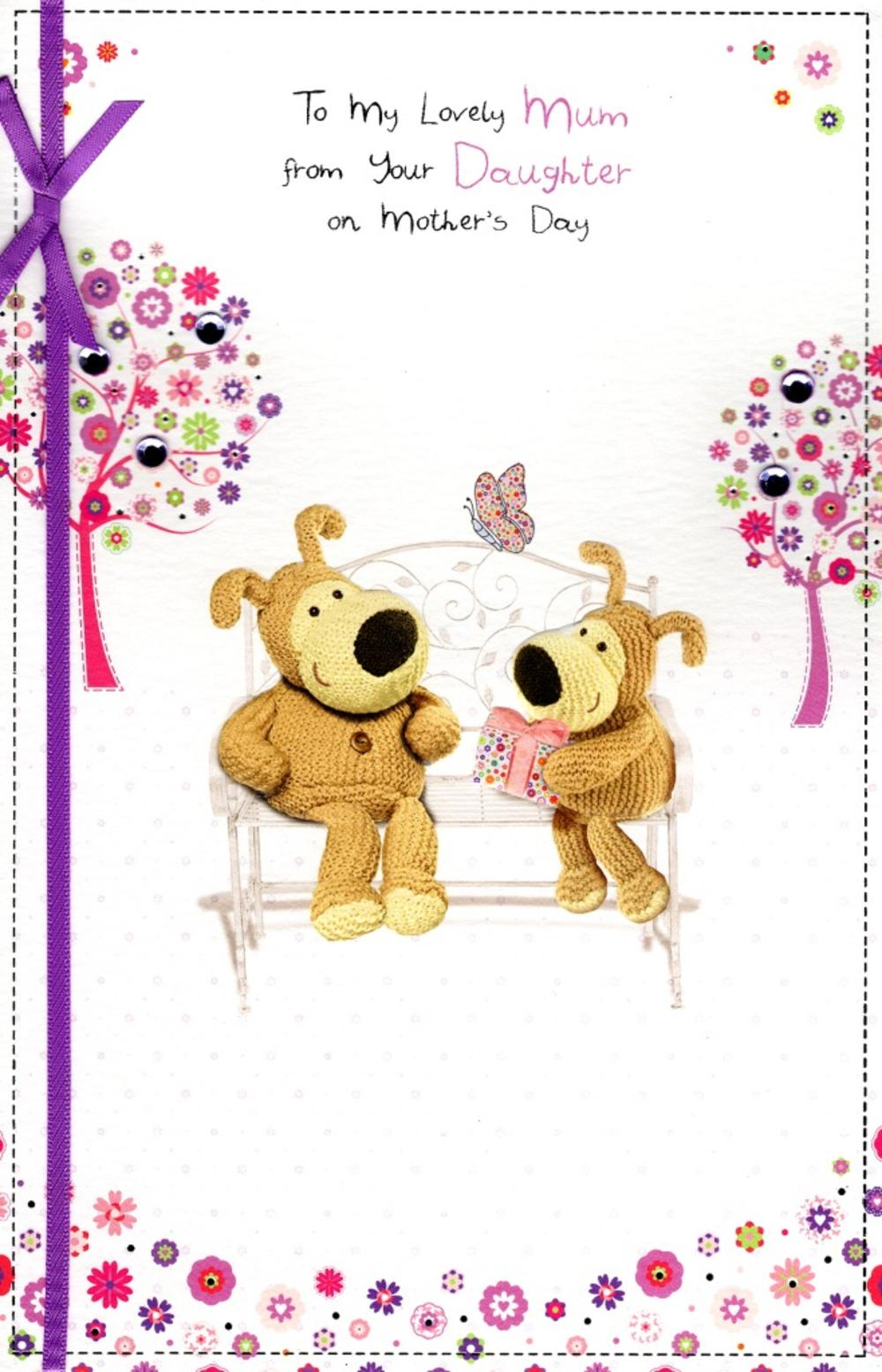 Boofle Mum From Daughter Mother's Day Card