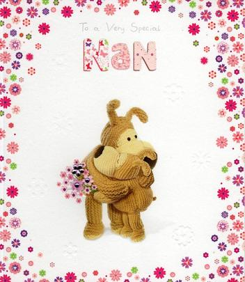 Boofle Special Nan Mother's Day Card