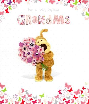 Boofle Special Grandma Mother's Day Card