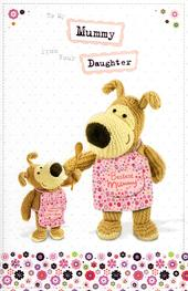 Boofle To Mummy From Daughter Mother's Day Card