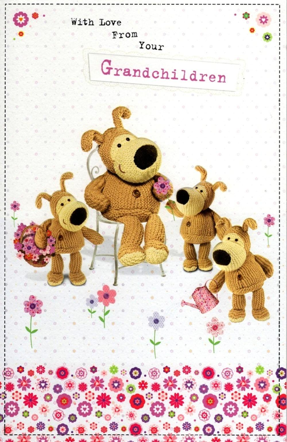 Boofle Mother's Day Card From Your Grandchildren