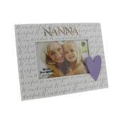"Wonderful Nanna 6"" x 4"" Wooden Photo Frame"