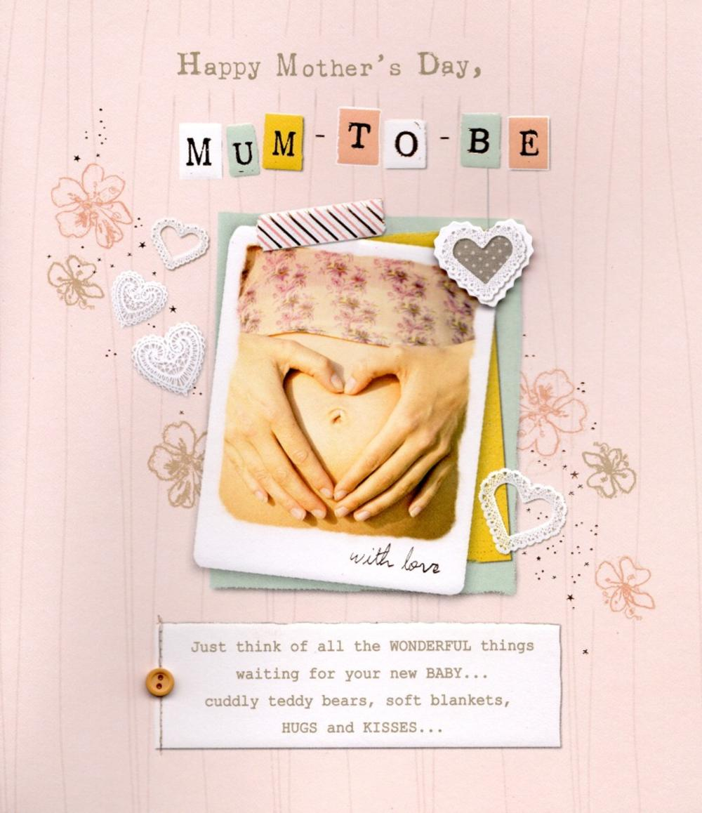Mum To Be Happy Mother's Day Card