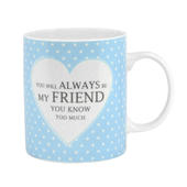 Special Friend Sentiments From The Heart Mug In Gift Box