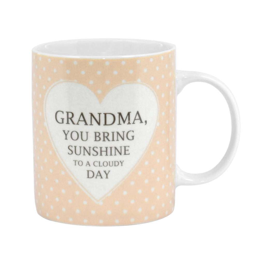 Special Grandma Sentiments From The Heart Mug In Gift Box