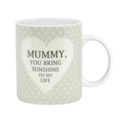 Special Mummy Sentiments From The Heart Mug In Gift Box