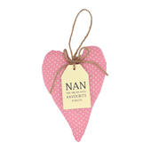 Special Nan Sentiments From The Heart Hanging Cushion
