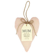 Special Mum Sentiments From The Heart Hanging Cushion