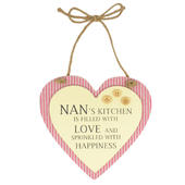 Special Nan Sentiments From The Heart Hanging Plaque