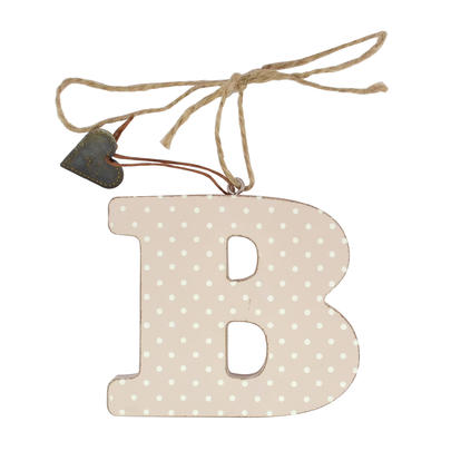 Letter B Sentiments From The Heart Hanging Letters