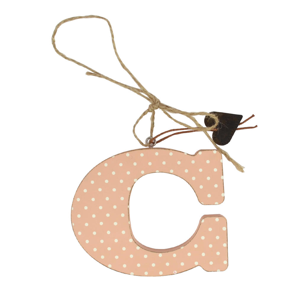Letter C Sentiments From The Heart Hanging Letters