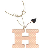 Letter H Sentiments From The Heart Hanging Letters