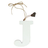 Letter J Sentiments From The Heart Hanging Letters