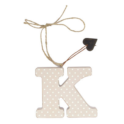 Letter K Sentiments From The Heart Hanging Letters