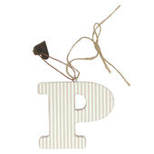 Letter P Sentiments From The Heart Hanging Letters