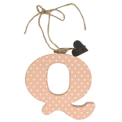 Letter Q Sentiments From The Heart Hanging Letters