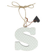 Letter S Sentiments From The Heart Hanging Letters