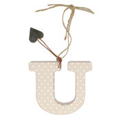 Letter U Sentiments From The Heart Hanging Letters