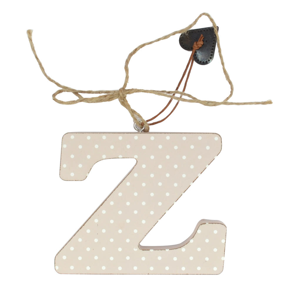 Letter Z Sentiments From The Heart Hanging Letters
