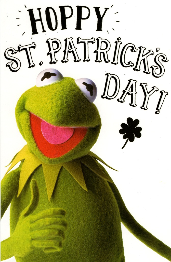 Muppets kermit frog hoppy st patricks day card quality greetings sentinel muppets kermit frog hoppy st patricks day card quality greetings cards m4hsunfo