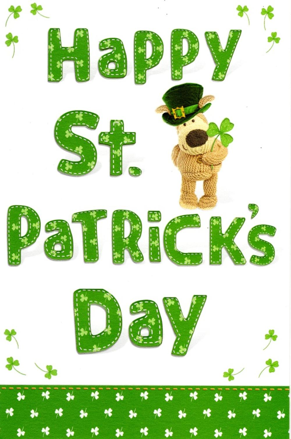 Boofle happy st patricks day greeting card cards love kates boofle happy st patricks day greeting card m4hsunfo